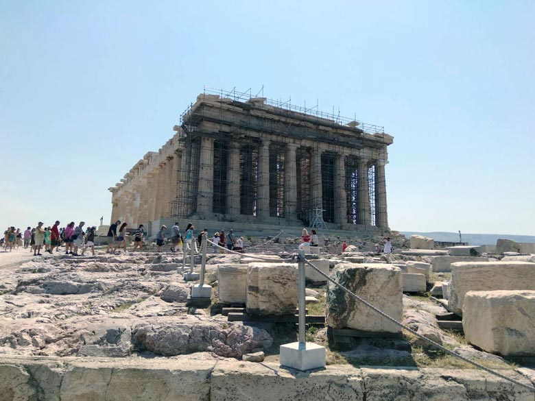 The Parthenon. Image by Elisabeth.