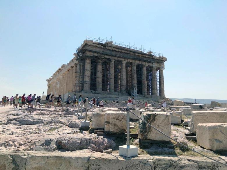 The Parthenon. Image by Elisabeth.