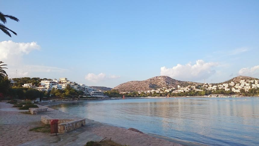 Vouliagmeni - one of the southern Athenian suburbs.