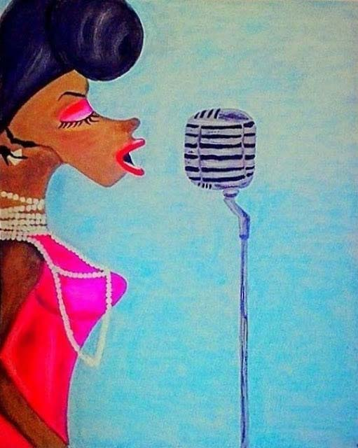The Jazz Singer painting