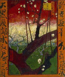 Van Gogh's Japonaisairie painting.