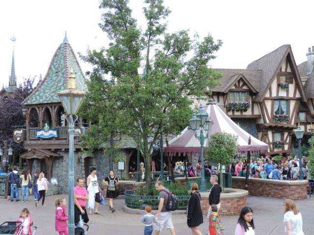 View of Peter Pan's house