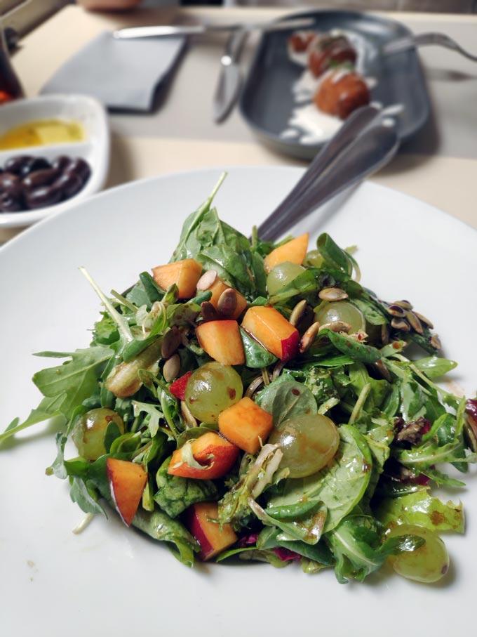 A delicious salad.