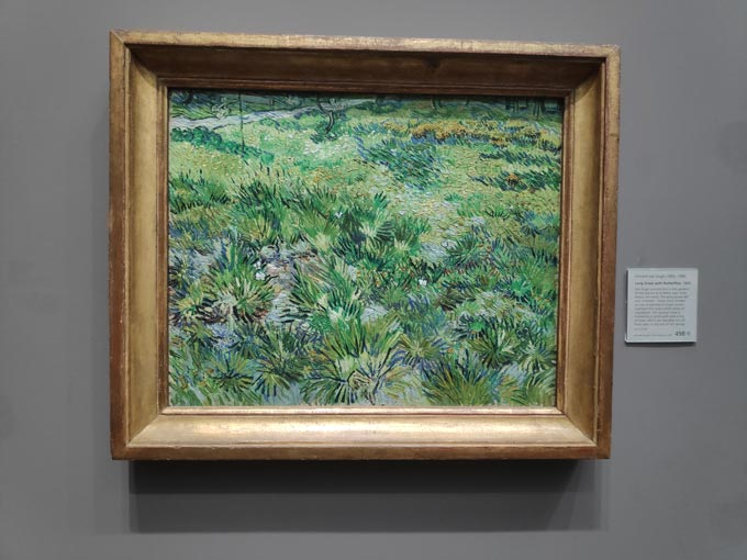 A Van Gogh painting from the Collection of the National Gallery in London.