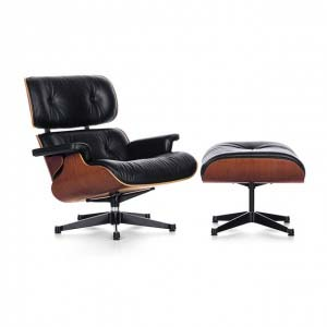 The iconic Vitra Eames Lounge Chair & Ottoman. Image by nest.co.uk