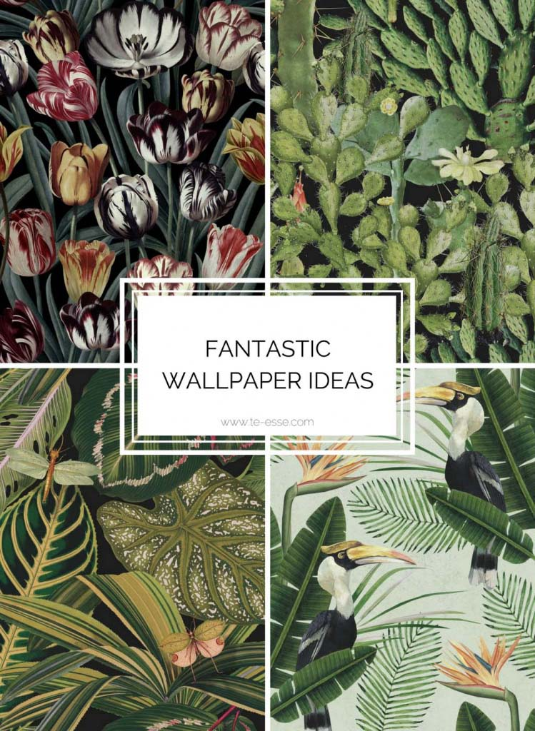 Four fantastic wallpapers. Images by Mind the Gap.