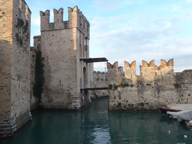 The castle in Sirmione.