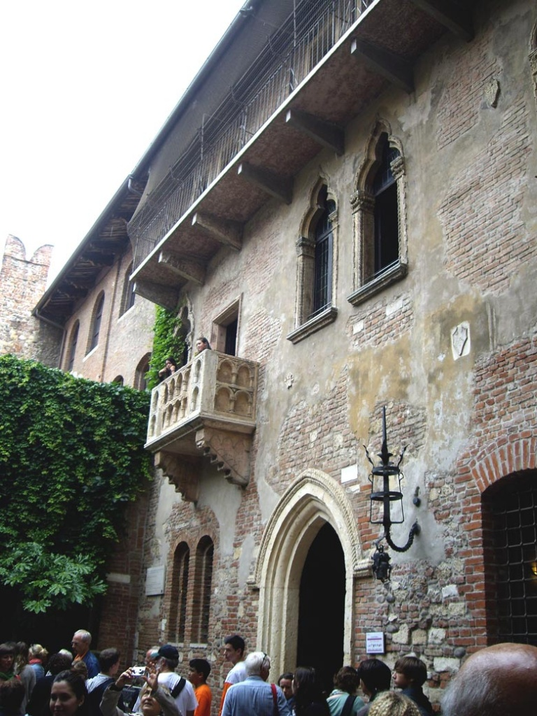 Juliet's home in Verona.