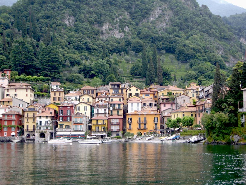 View of the town of Como.