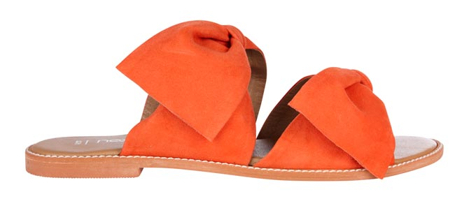 Double bow orange slider. Image by Next.