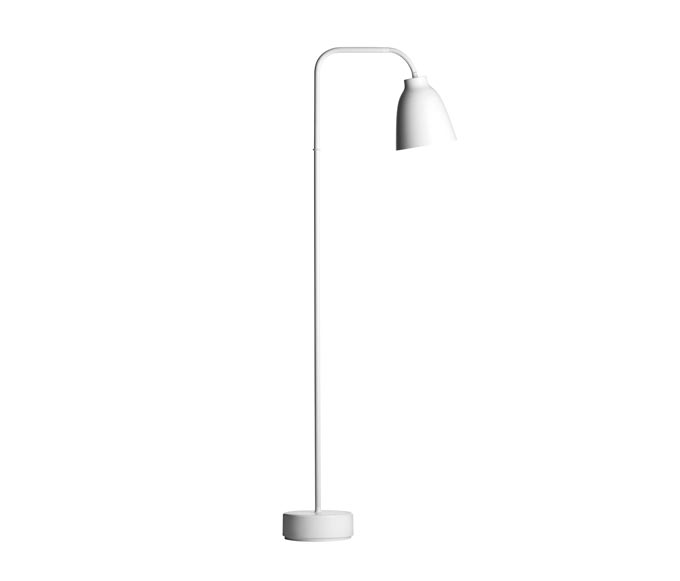 The Caravaggio Read Floor Lamp is the latest addition to the iconic Caravaggio series. Image by Nest.co.uk.