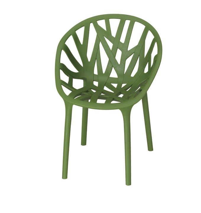 The Vitra Vegetal Chair with its plant like structure designed by the Bouroullec brothers. Image by Nest.co.uk.
