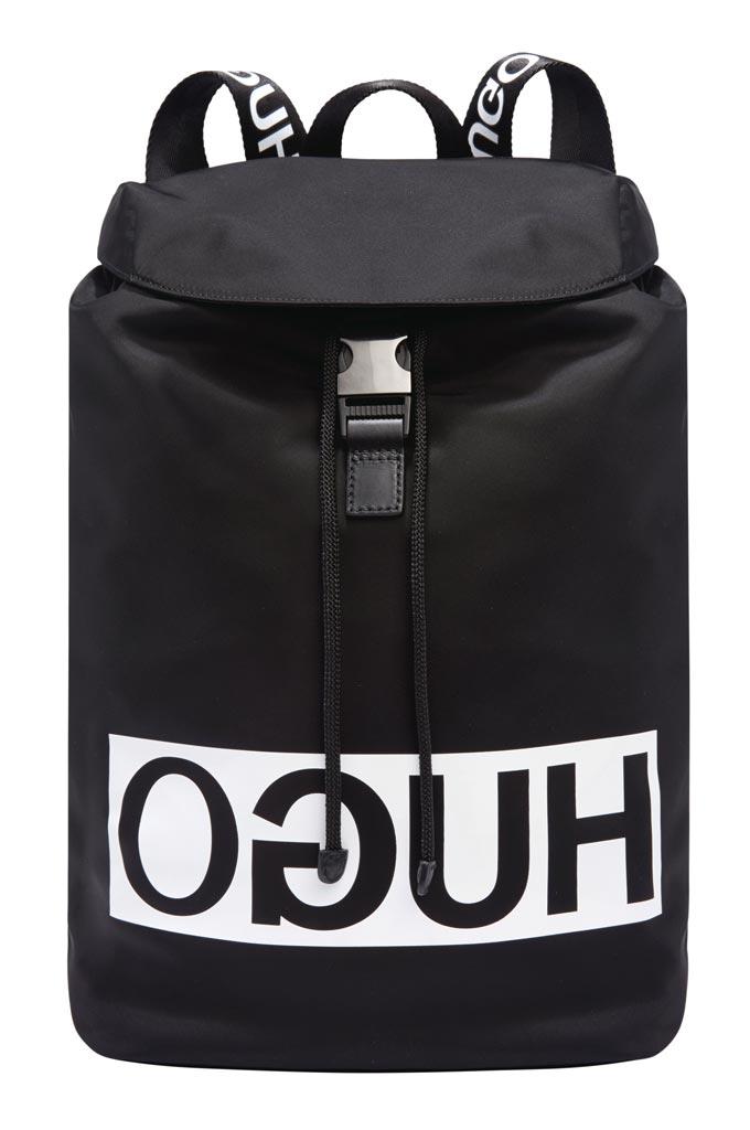 A Hugo Boss backpack. Image by House of Fraser.