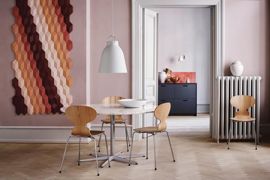 A dining setup. Image by Nest.co.uk.
