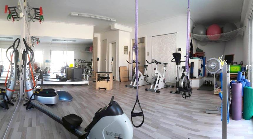The yoga and pilates studio of Ifiyenia Koskina.