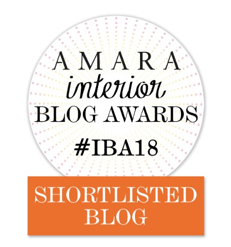 Amara Interior Blog Awards Badge for Shortlisted Blog