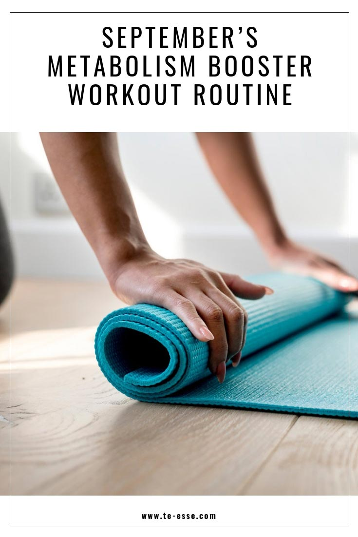 New video out! A pinterest graphic for September's Metabolism Booster Workout Routine.