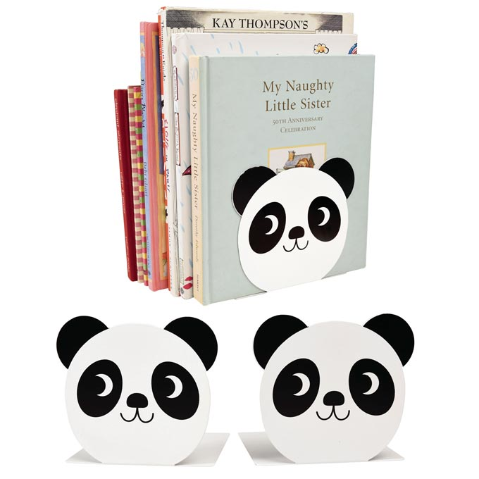 Panda bear bookstands. Too cute! Image by