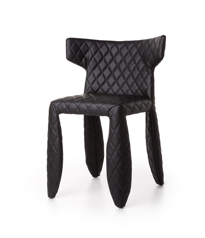 A black chair. Image by Nest.