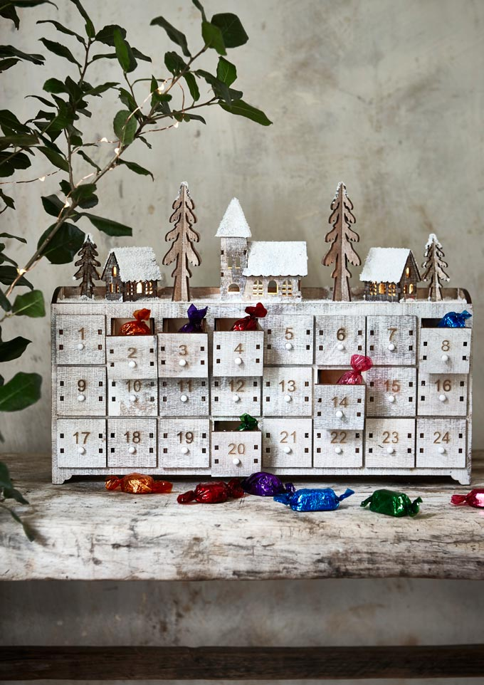 A great looking Advent Calendar. Image by National Trust.