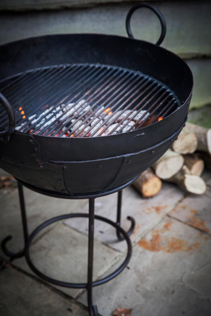 The Kadai bbq that may turn into a fire pit as well. Image by Garden Trading.
