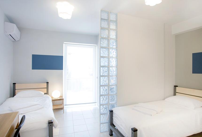 Room No 10 after the renovation works designed by Velvet Karatzas.