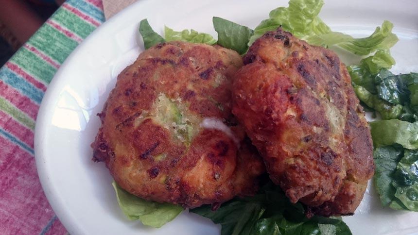 Another traditional dish: stuffed zucchini.