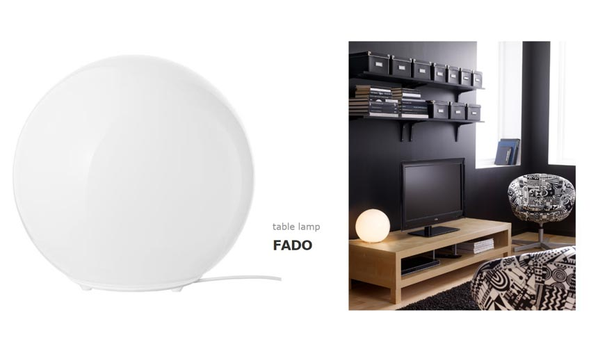 Ikea's Fado table lamp.