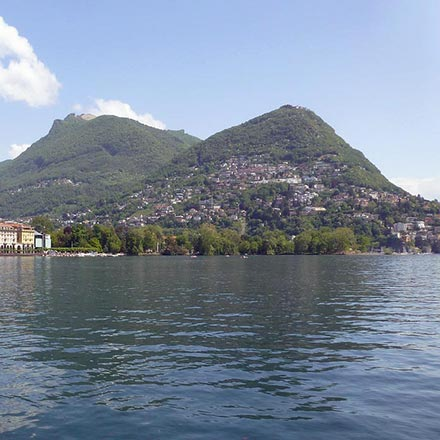 View of Lake Lugano
