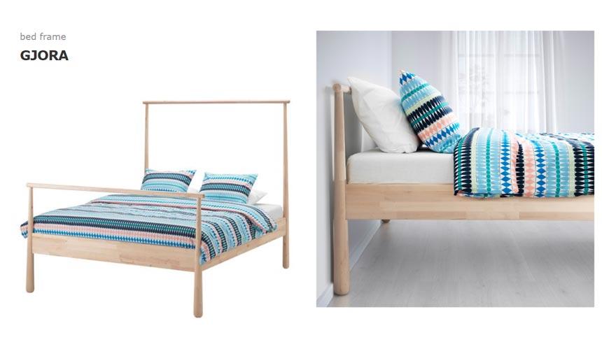Ikea's Gjora Bed.