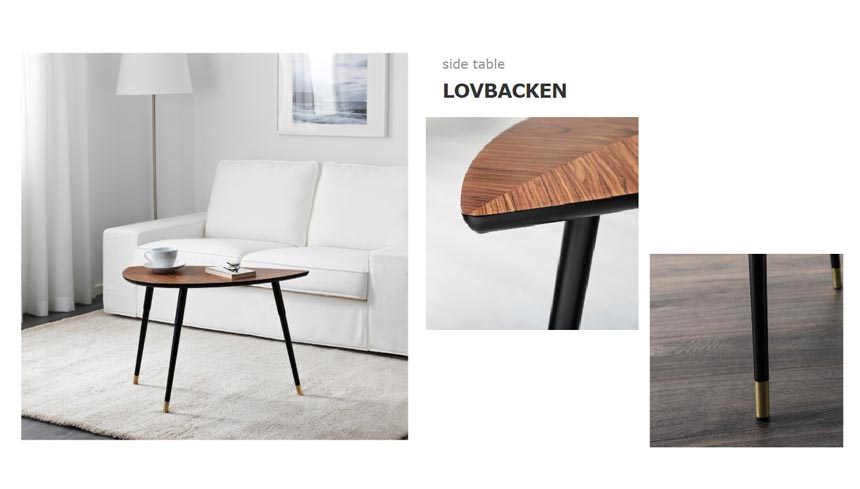 Ikea's Lovbacken side table.