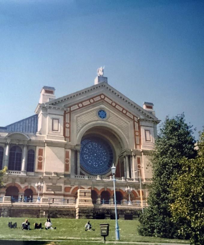 Ally Pally in North London.