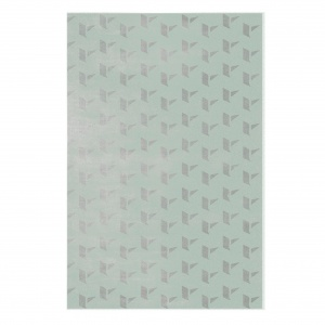 Rug: Kubrick by Essential Home in a color that looks like Tranquil Dawn color of the year 2020.