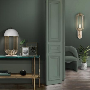 A monochromatic green interior can have such impact! Image via Essential Home.