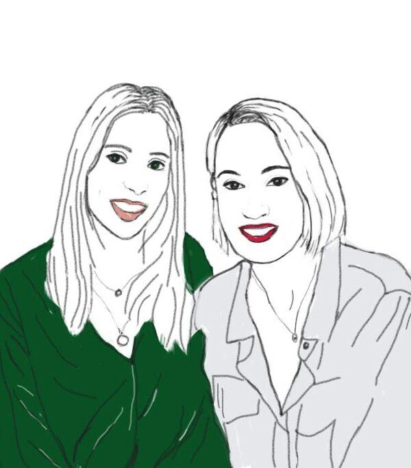 Illustration of Elisabeth and Velvet