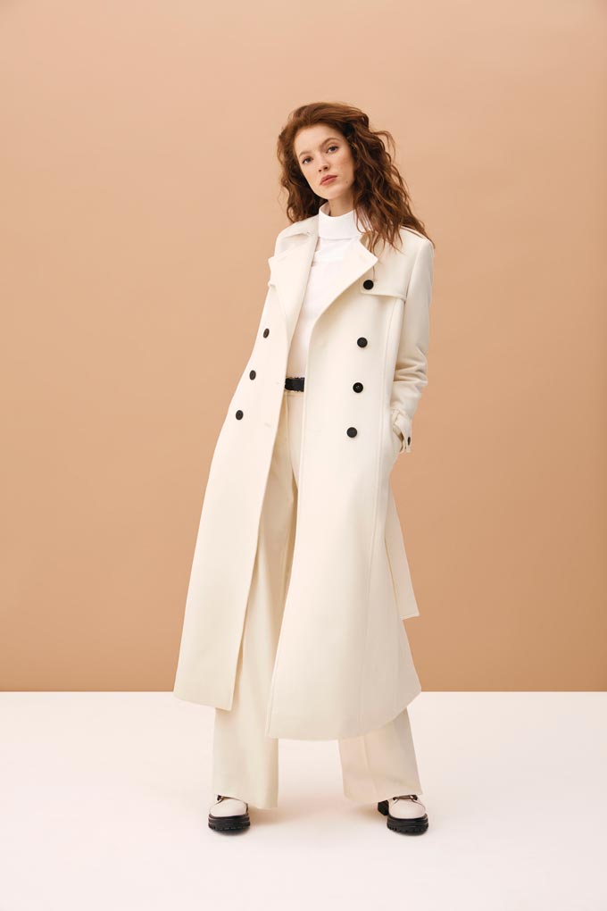 The all white winter outfit from Hobbs. Stunning!