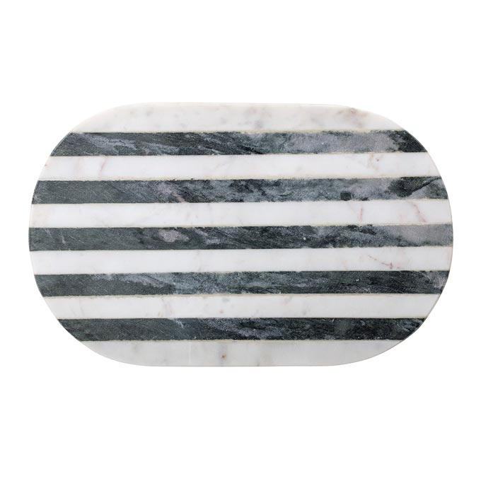 A marble cutting board from Cult Furniture. Marble decor ideas.