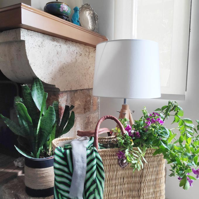 Flowers and plants in home decor are a must, especially nowadays. Cheers to Flower Power for this Instagram Challenge.